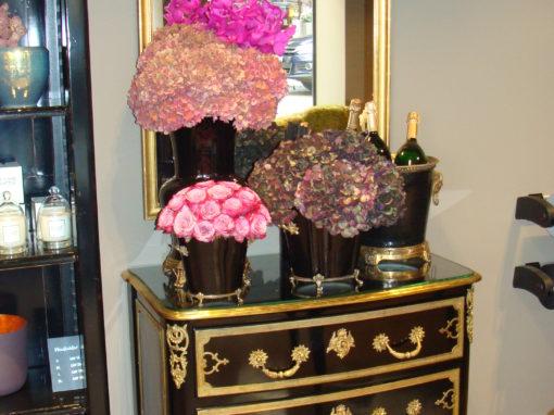 Blumengeschäft Fleurs des Rois Basel mit Moissonnier
